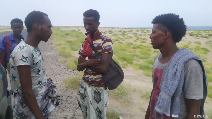Afrika Migration Jemen Küste Flüchtlinge