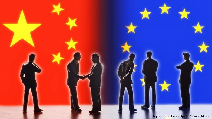 Symbolfoto Handelsbeziehungen zwischen China und der EU