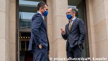 Deutschland Berlin Außenminister Heiko Maas mit Luigi Di Maio