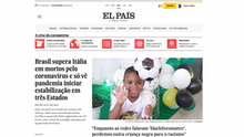 Screenshot El Pais Brasilien