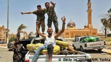 Libyen Truppen von General Haftar zurückgedrängt