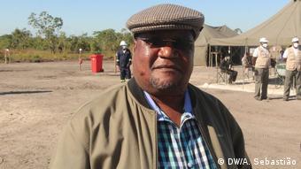 Mosambik Sofala | Präsident von RENAMO | Ossufo Momade (DW/A. Sebastião)