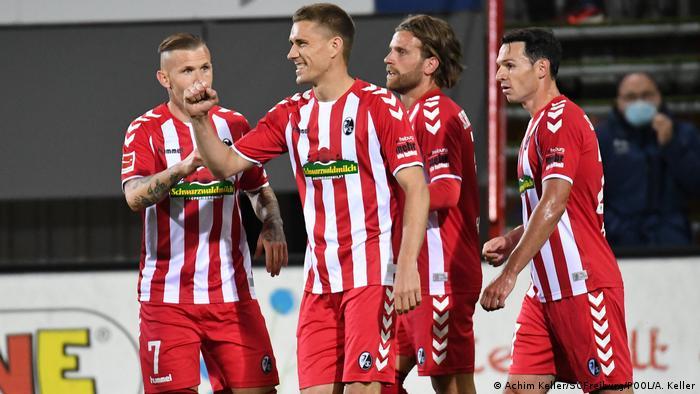 Fußball Bundesliga | SC Freiburg - Borussia Mönchengladbach (Achim Keller/SCFreiburg/POOL/A. Keller)