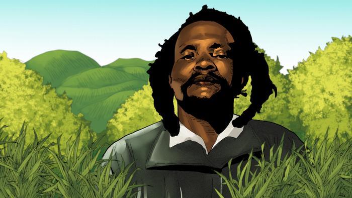 African Roots   Dedan Kimathi 1   Porträt