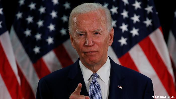 جو بايدن مرشح الحزب الديمقراطي لانتخابات الرئاسة الأمريكية