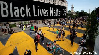 USA Black Lives Matter Plaza Washington