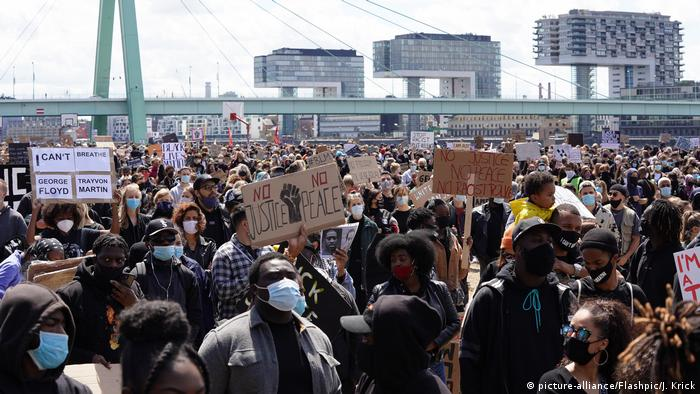 Акція протесту у Кельні