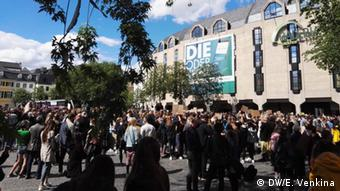 Демонстрация в бывшей столице Германии, Бонне