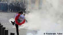 Libanon Protest gegen die Regierung in Beirut