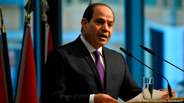 Ägyptens Staatspräsident Al-Sisi (Foto: Getty Images/AFP/J. Macdougall)