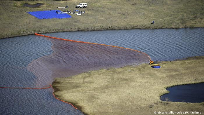 Russland: Reinigung von Kraftstoffverschmutzungen in Norilsk
