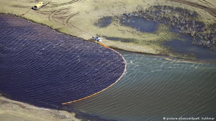 Vazamento de diesel em rio da Sibéria