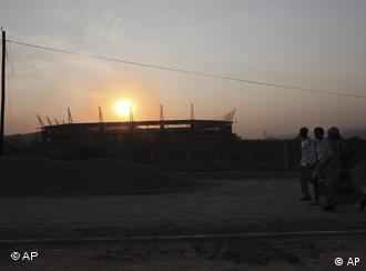 Das Mbombela-Stadion in Nelspruit (Foto: AP)