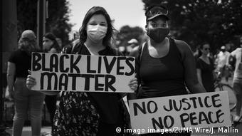 USA | Washington | Black Lives Matter Protest (imago images/ZUMA Wire/J. Mallin)