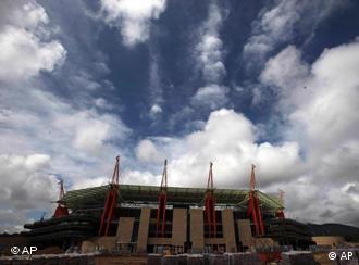 Das WM-Stadion in Nelspruit (Foto: AP)