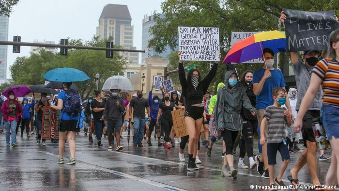 USA | Florida | Black Lives Matter Protest (imago images/ZUMA Wire/D. Shadd)
