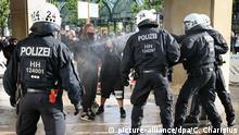 Deutschland   Hamburg   Black Lives Matter Protest