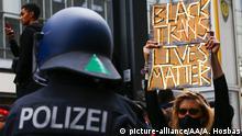 Deutschland | Berlin | Black Lives Matter Protest