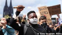 Deutschland | Köln | Black Lives Matter Protest