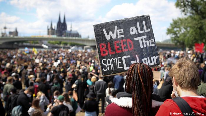 Deutschland | Köln | Black Lives Matter Protest (Getty Images/A. Rentz)