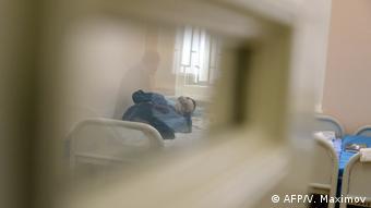 Пациент в Национальном центре социальной и судебной психиатрии имени Сербского в Москве