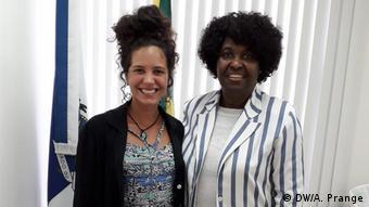 Stefanie Prange de Oliveira e Benedita Silva