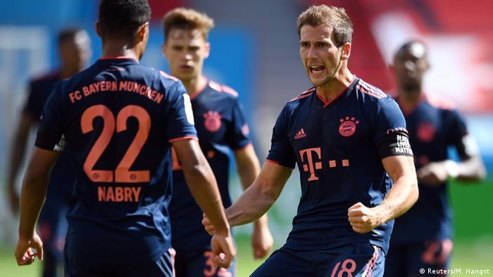 Bayer Leverkusen - FC Bayern München | Jubel Goretzka