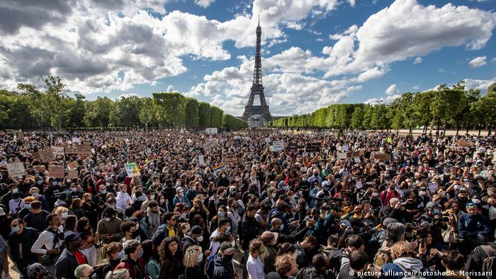 Frankreich Black Live Matter Proteste in Paris
