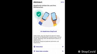 Скриншот французского приложения