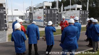 Пилотный проект Power to Gas концерна E.on в городке Фалькенхагене