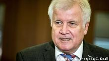 Bundesinnenminister Seehofer gibt Statement ab