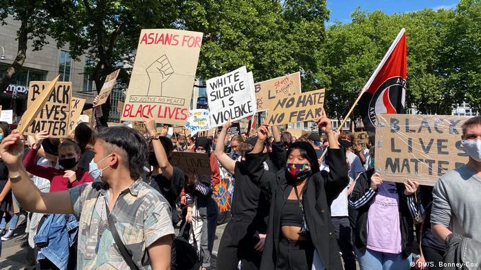Protesti održani i u Nemačkoj (Keln, jun 2020)