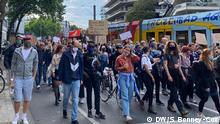 Deutschland Black Live Matter Proteste in Köln