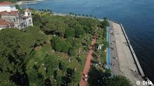 Istanbul's Caddebostan district People in İstanbul flocked to parks and seaside to enjoy the weekend after the coronavirus restictions started to be gradually eased in Turkey Copyright: DHA