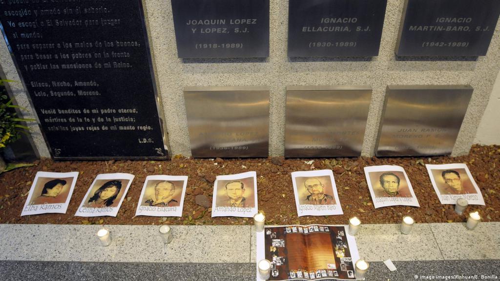 Recuerdo de la masacre en la UCA