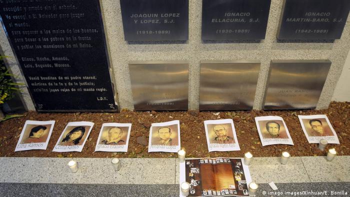 El Salvador   Massaker   Jesuiten Prister (imago images/Xinhuan/E. Bonilla)