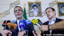 Iran Teheran Arzt Majid Taheri nach Entlassung aus US-Haft eingetroffen