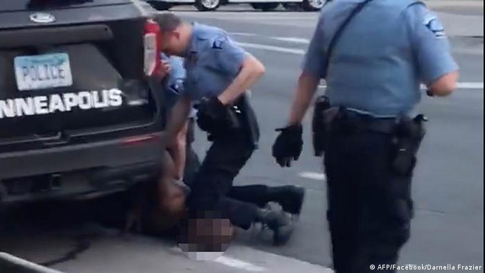 USA Minneapolis Polizei | Verhaftung George Floyd (AFP/Facebook/Darnella Frazier)