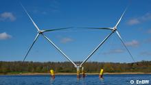 Nezzy 2 in Hymendorf schwimmende Windkraftanlage von EnBW