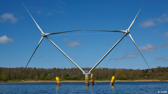 Nezzy2 - модель плавучего ветрогенератора