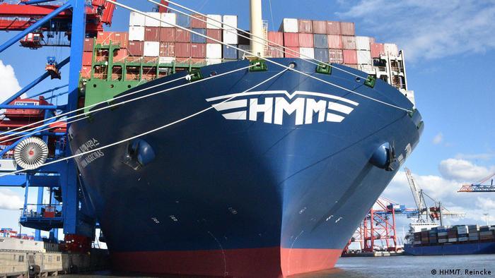 Пристанището в Хамбург