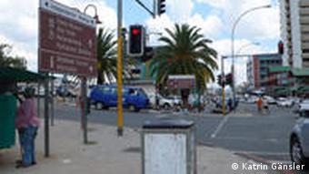 Zentrum Windhoek (Foto: DW)