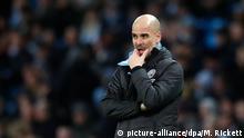 Großbritannien Fußball |Manchester City |Pep Guardiola, Trainer