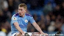Großbritannien Fußball |Manchester City |Kevin De Bruyne