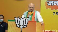 Indien Bahir   Virtueller Wahlkampf und Proteste