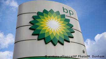 Эмблема компании BP