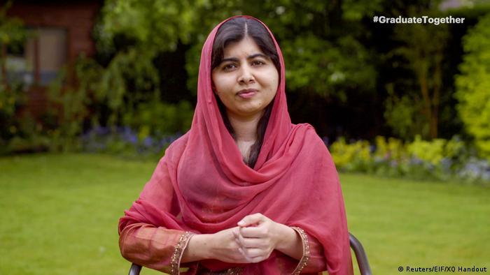 A ativista paquistanesa Malala Yousafzai
