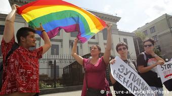 Symbolbild Russland Stop Homophobie
