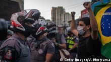 Brasilien Sao Paolo | Protest & Demonstration für Demokratie