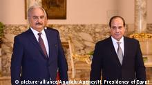 Ägypten Kairo 2019 | Abdel Fattah al-Sisi, Präsident & Chalifa Haftar